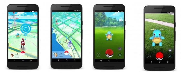 Pokemon Go Pre Screen