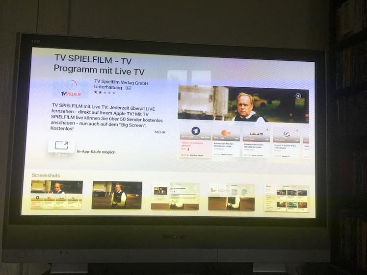 TV Spielfilm Apple TV 4
