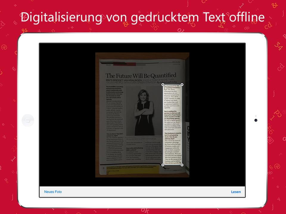 TextGrabber Screen