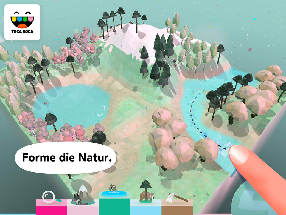 Toca NAture Screen