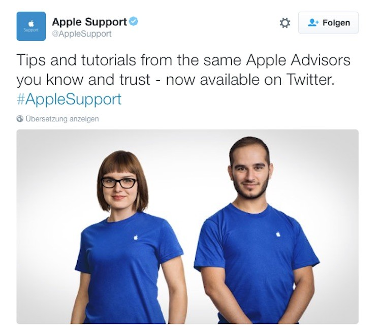 Twitter Apple Support