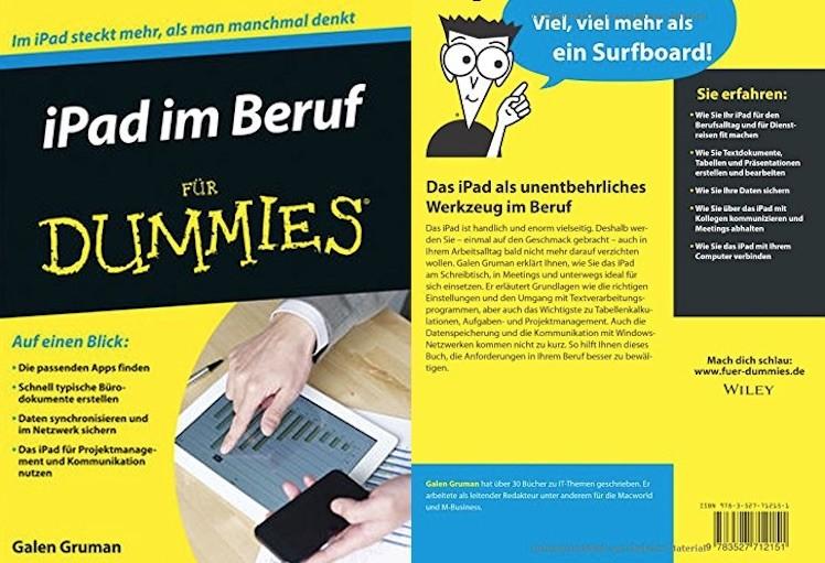 iPad im Beruf Vorder Rueckseite