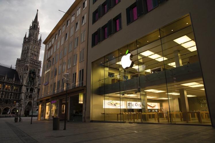 Apple Store gruen 2
