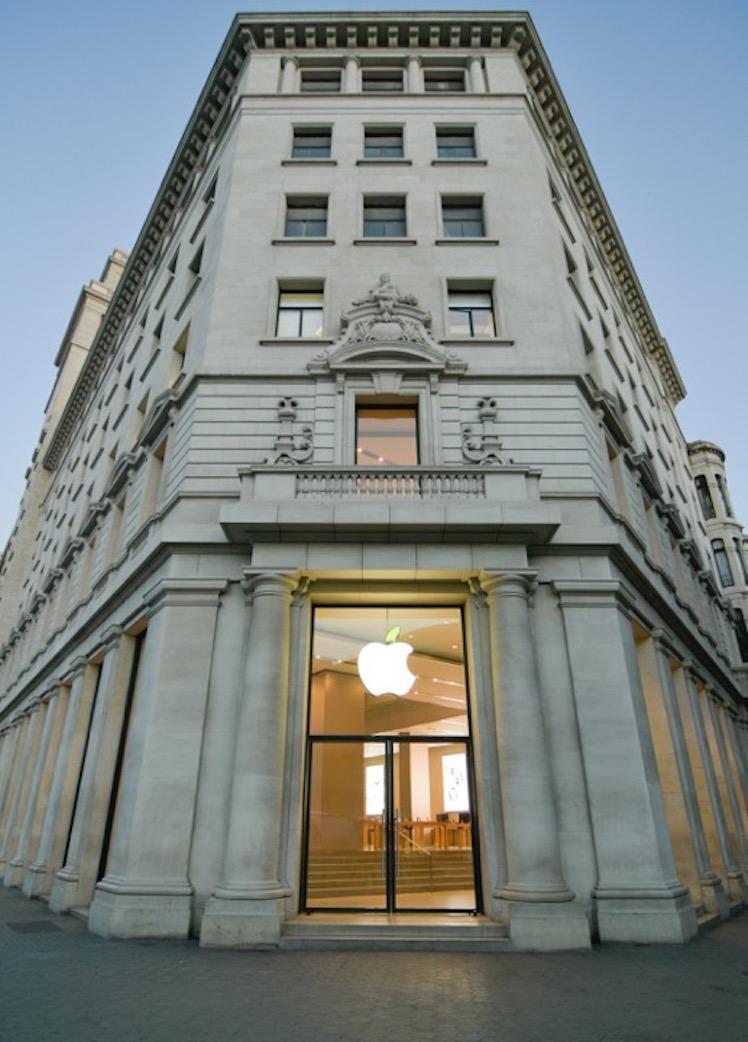 Apple Store gruen 3