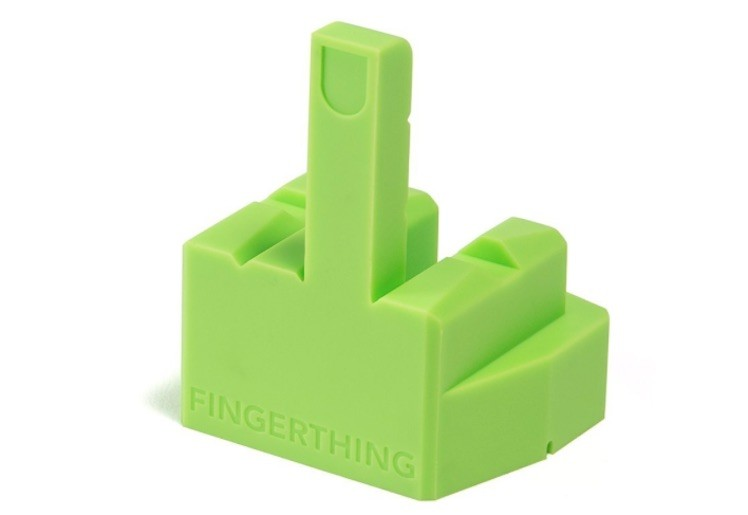 Fingerthing gruen