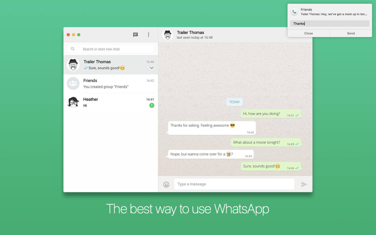 FreeChat Screen