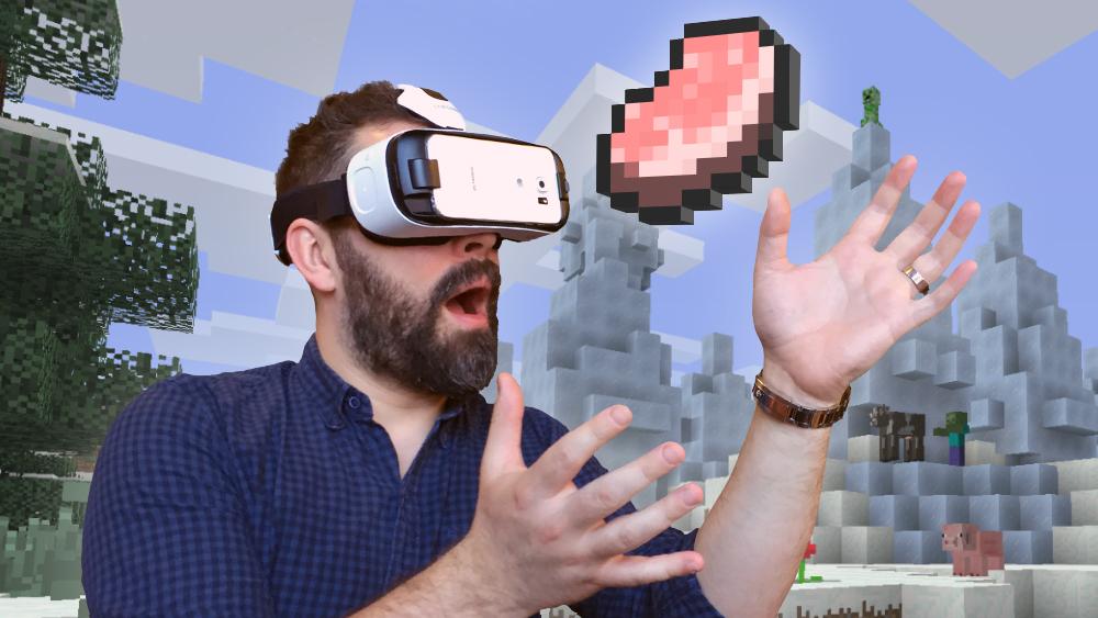 Minecraft Pocket Edition VRkompatible Version Jetzt Neu ITopnews - Minecraft pe jetzt spielen