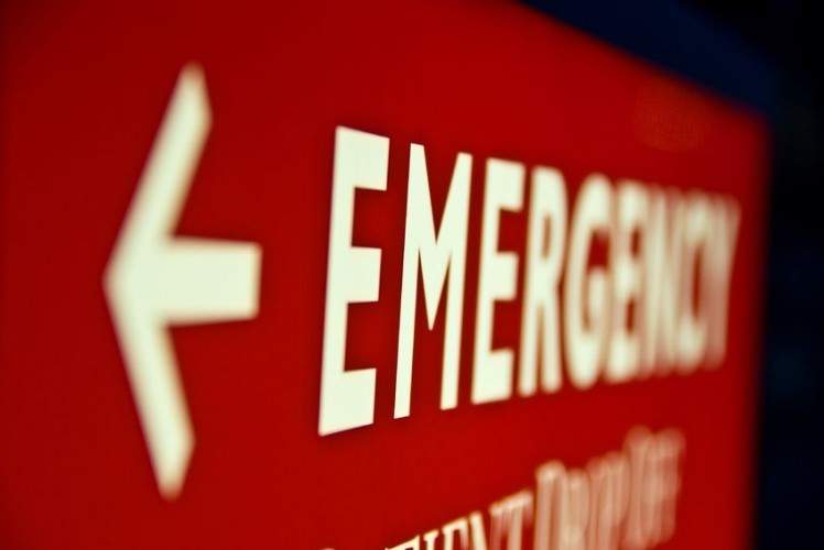 Notruf Alarm Unfall