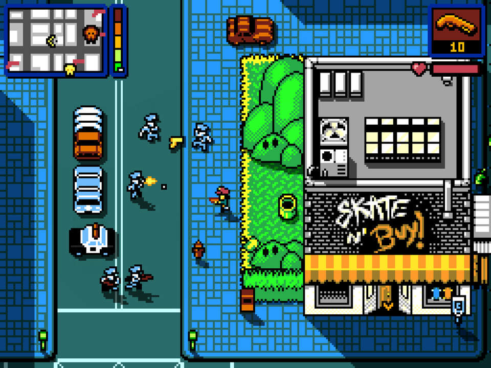 Retro City Rampage Screen