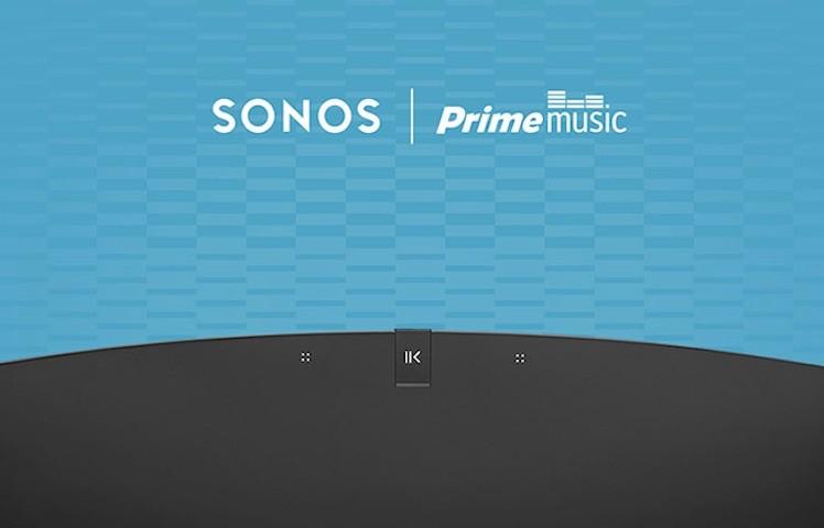 Sonos Amazon Prime