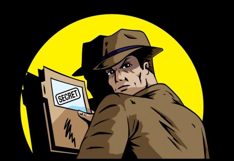 Spion heimlich geheim
