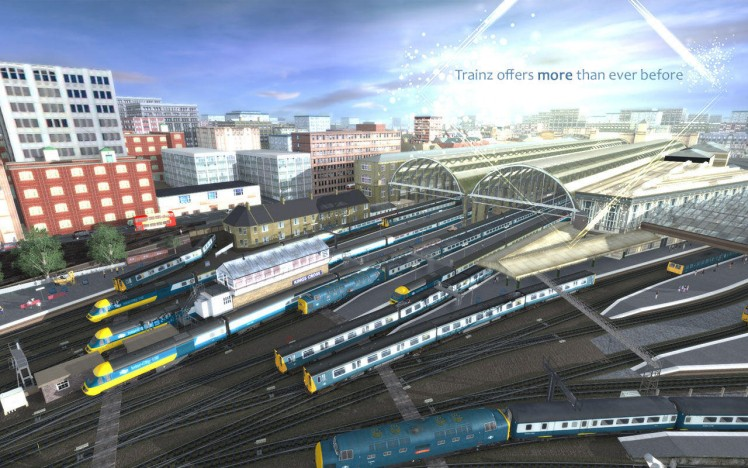 Trainz Driver 2016 Screen