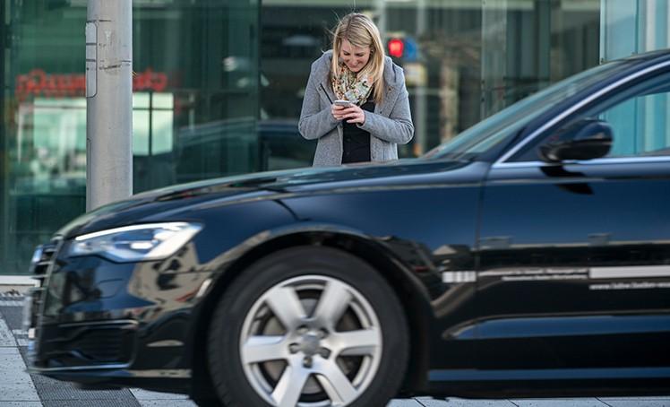 Verkehrsgefahr Smartphone