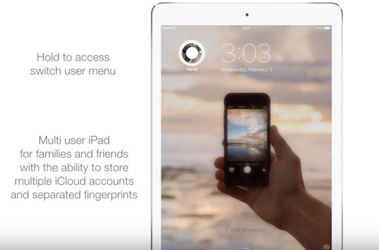 iOS 10 Konzept
