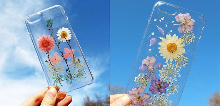 iPhone-Hüllen mit Blumen