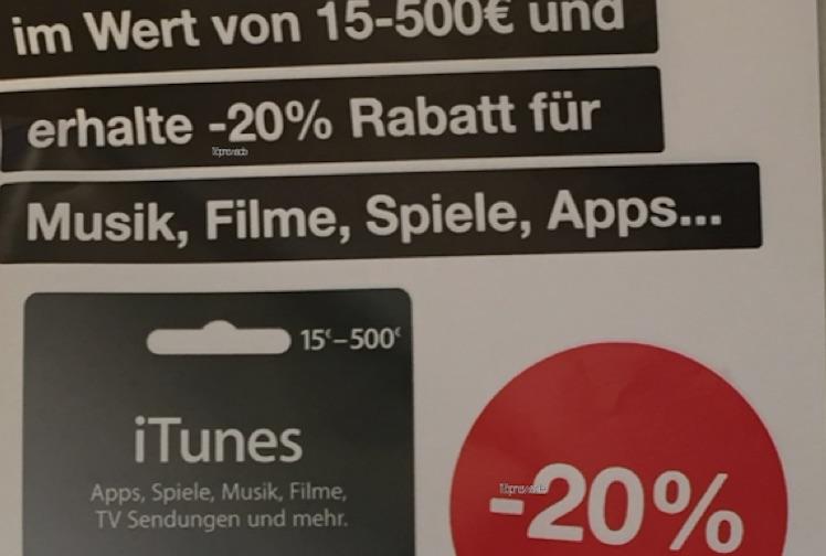 iTunes Karten DB bis 10 05 2016