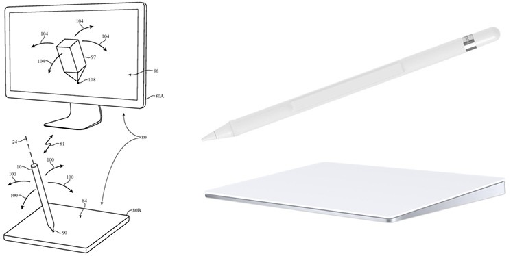 Apple Pencil fürs Mac-Trackpad
