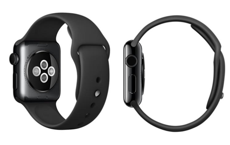 Apple Watch Edelstahl schwarz