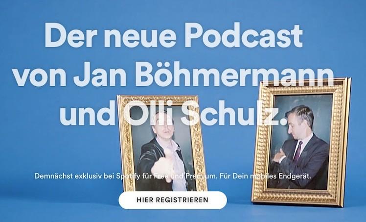 Boehmermann Schulz Spotify