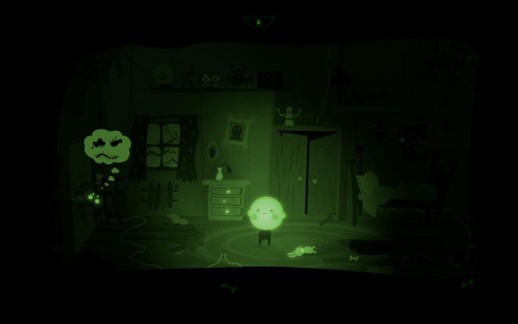 Bulb Boy Screen
