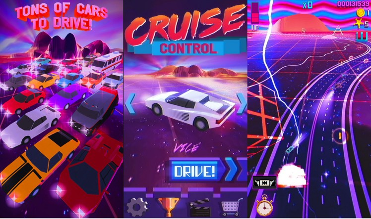 Cruise Control Screen