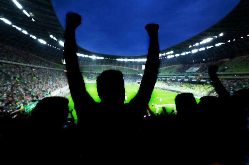 Fußballstadion Fußball Stadion