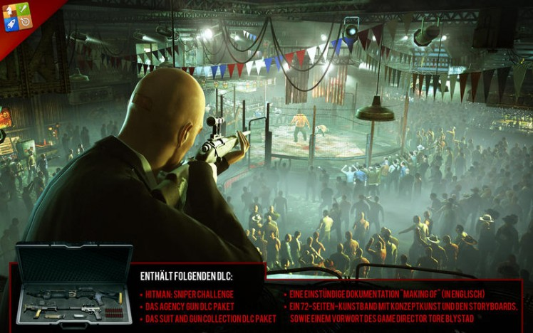 Hitman Absolution Screen