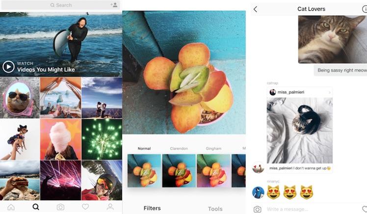 Instagram neu 2016