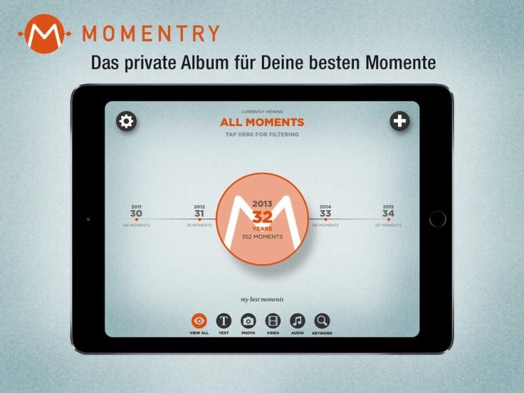 Momentry Screen