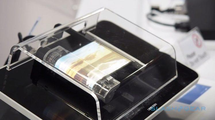 Samsung faltbarer Display