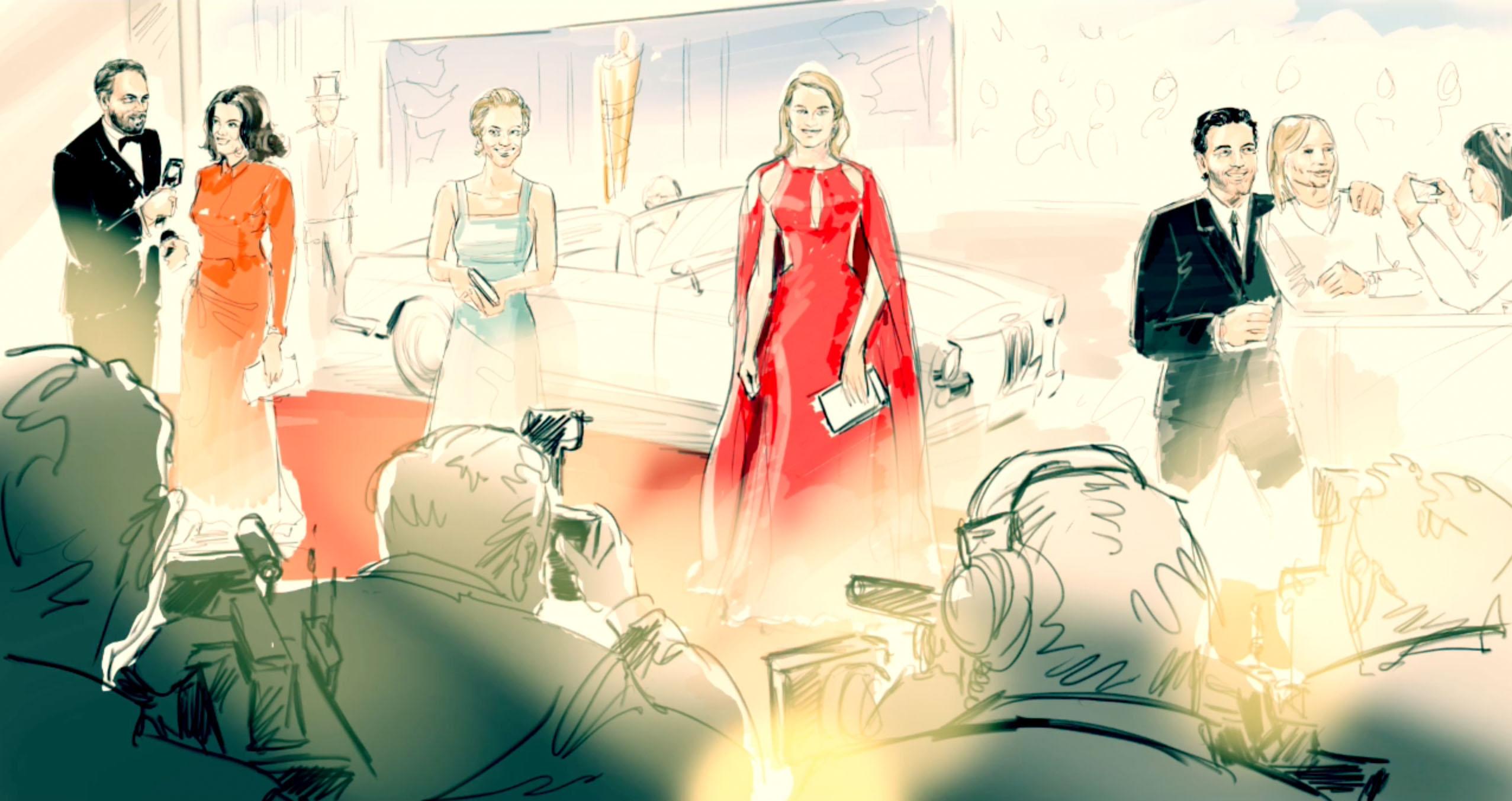 Deutscher Filmpreis: iPad Pro als Skizzenbuch (Fotos)