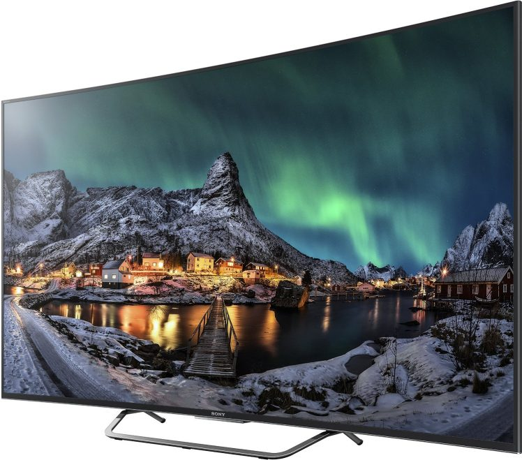 Sony 4K TV Curved Fernseher