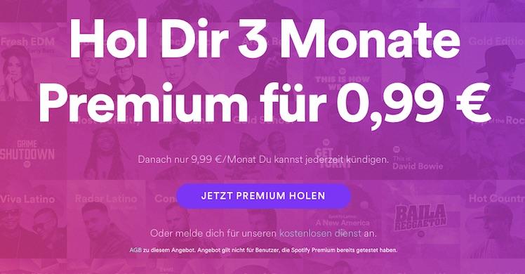 Spotify 99 cent