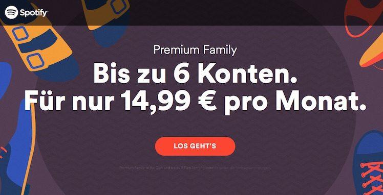 Spotify Familie