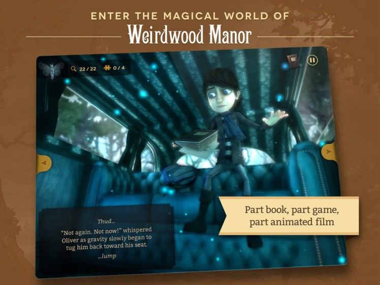 Weirdwood Manor Screen