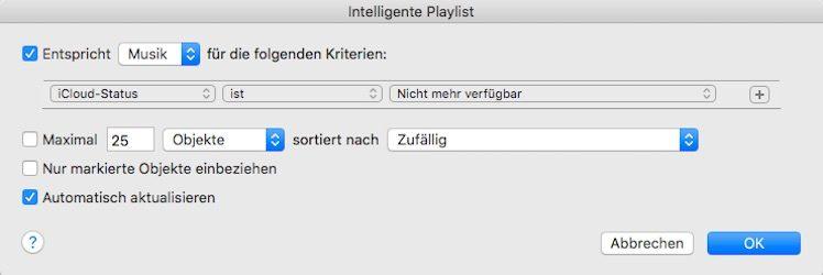 iCloud Musik