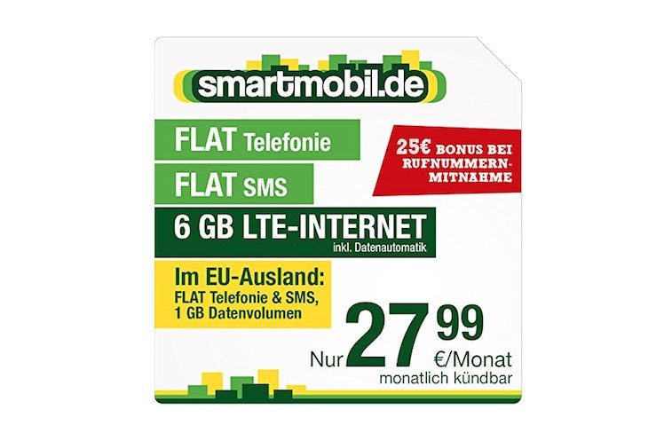 smartmobil 6 GB LTE