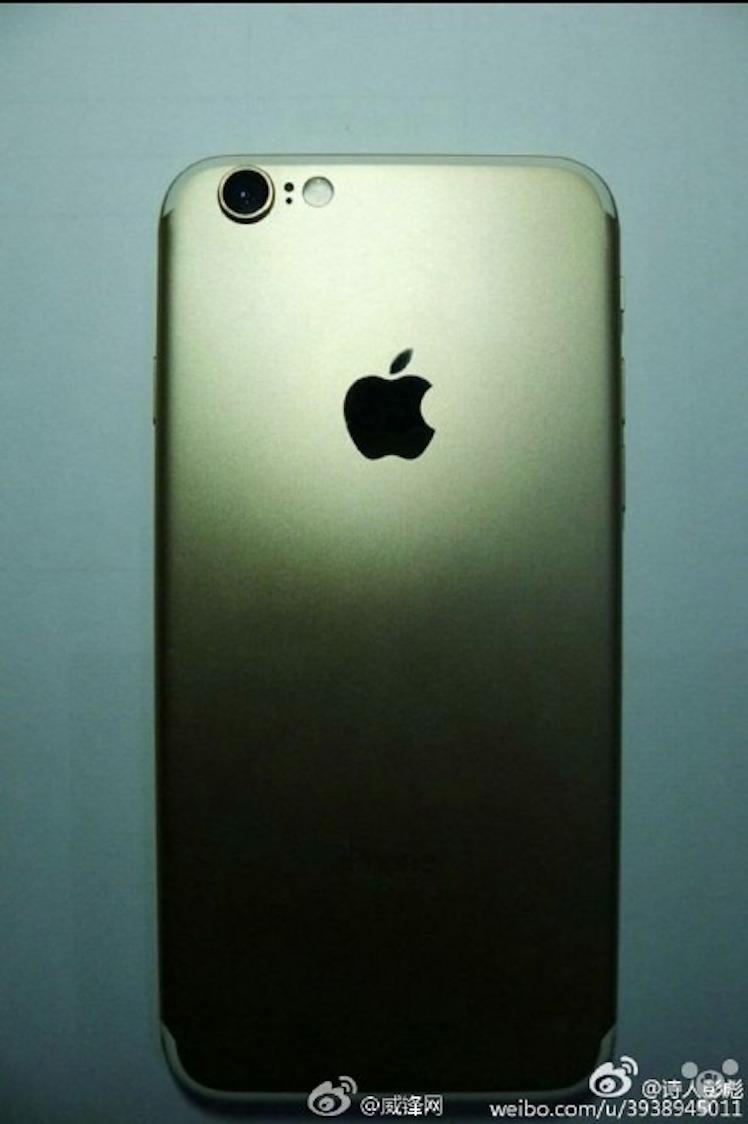 weibo iPhone 7 Gehaeuse Leak