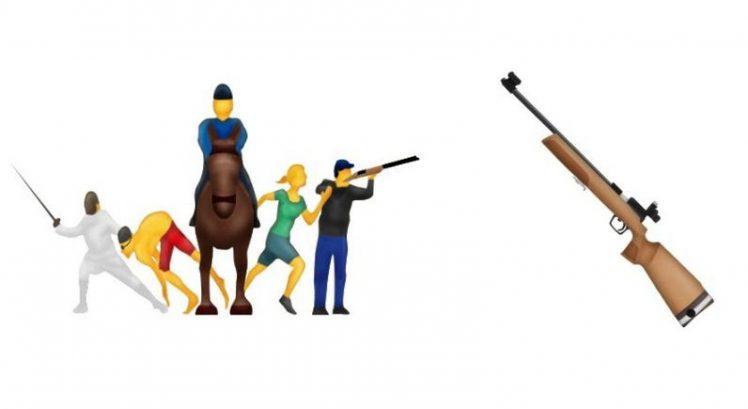 Apple Gewehr Emoji