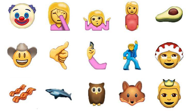 Emojis Unicode 9