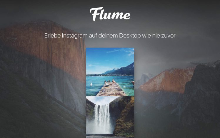 Flume Screen