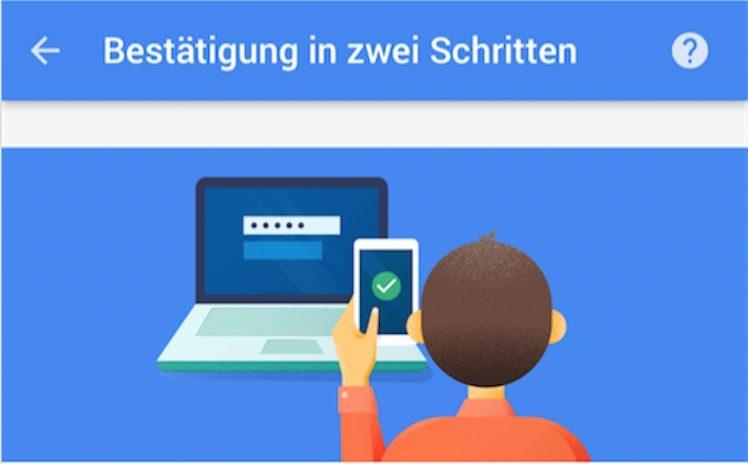 Google Zwei Faktor