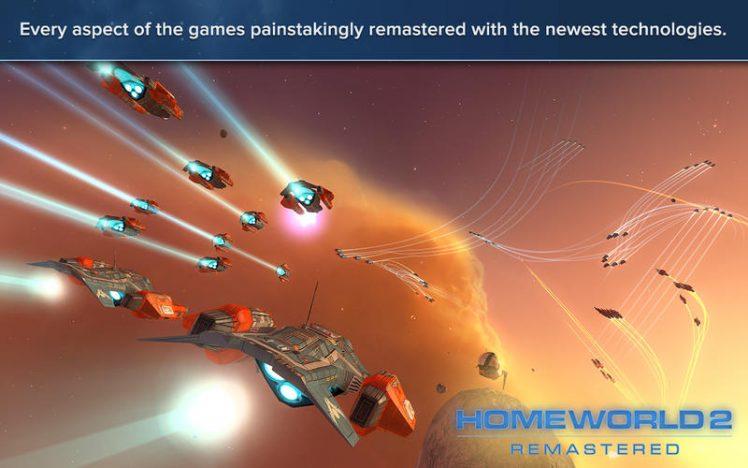 Homeworld Remastered Collection Screen