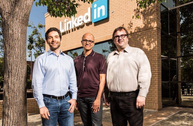 LinkedIn mit Microsoft Boss