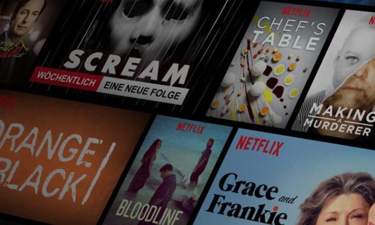 Netflix Ansicht
