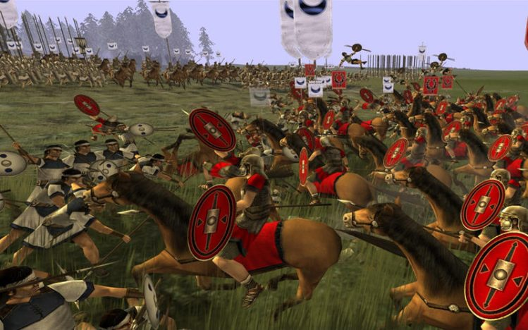 Rome Total War Screen