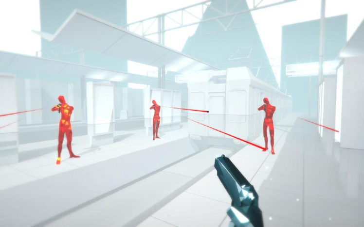 SUPERHOT Screen