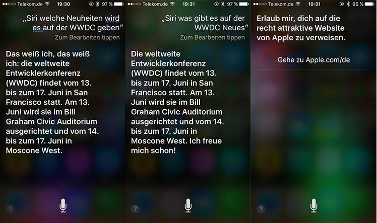 Siri/WWDC