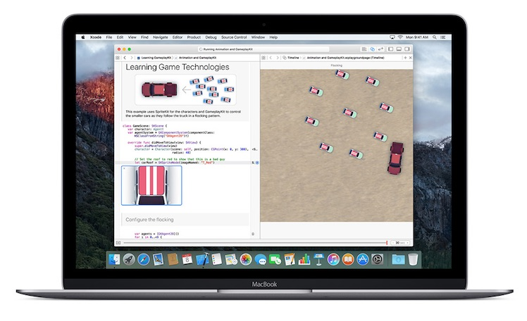 Swift Ansicht MacBook