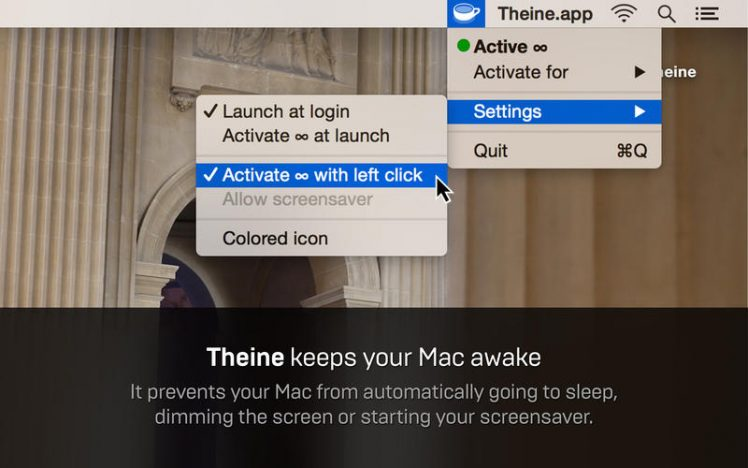 Theine Screen